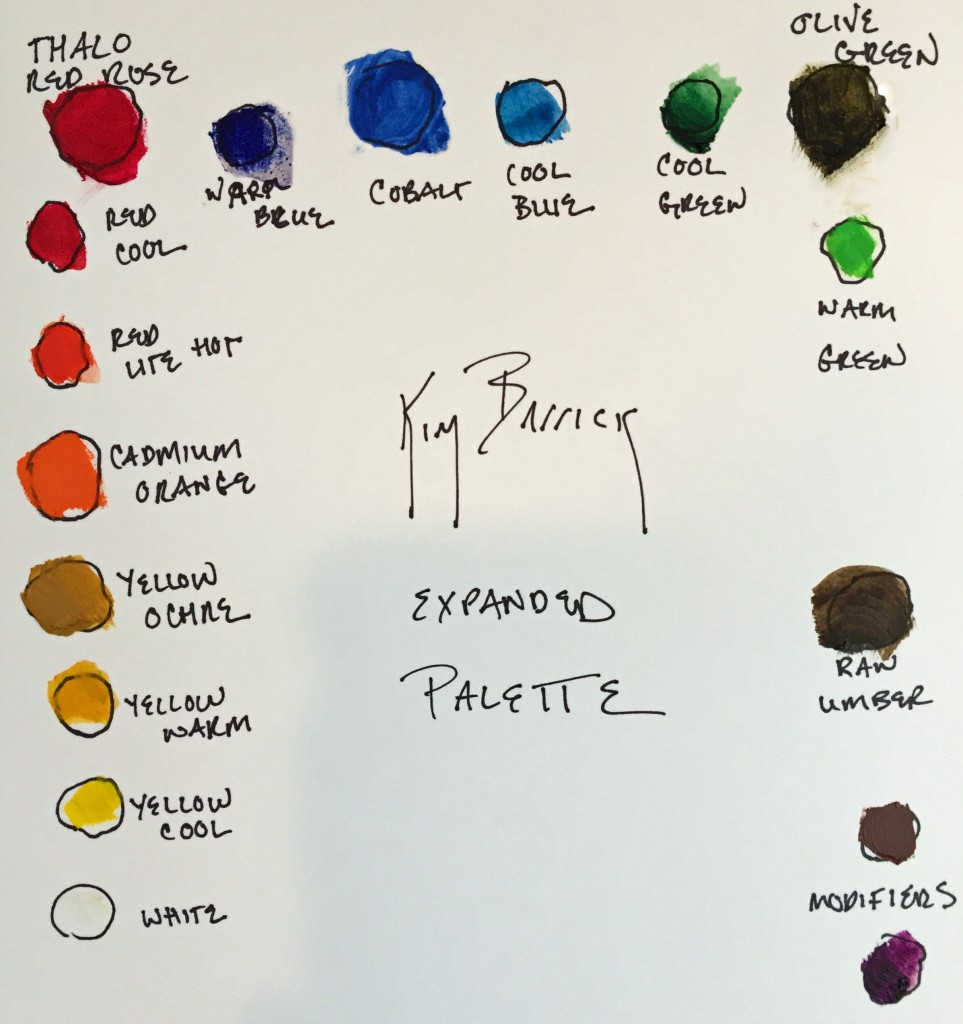 drawing of expanded palette